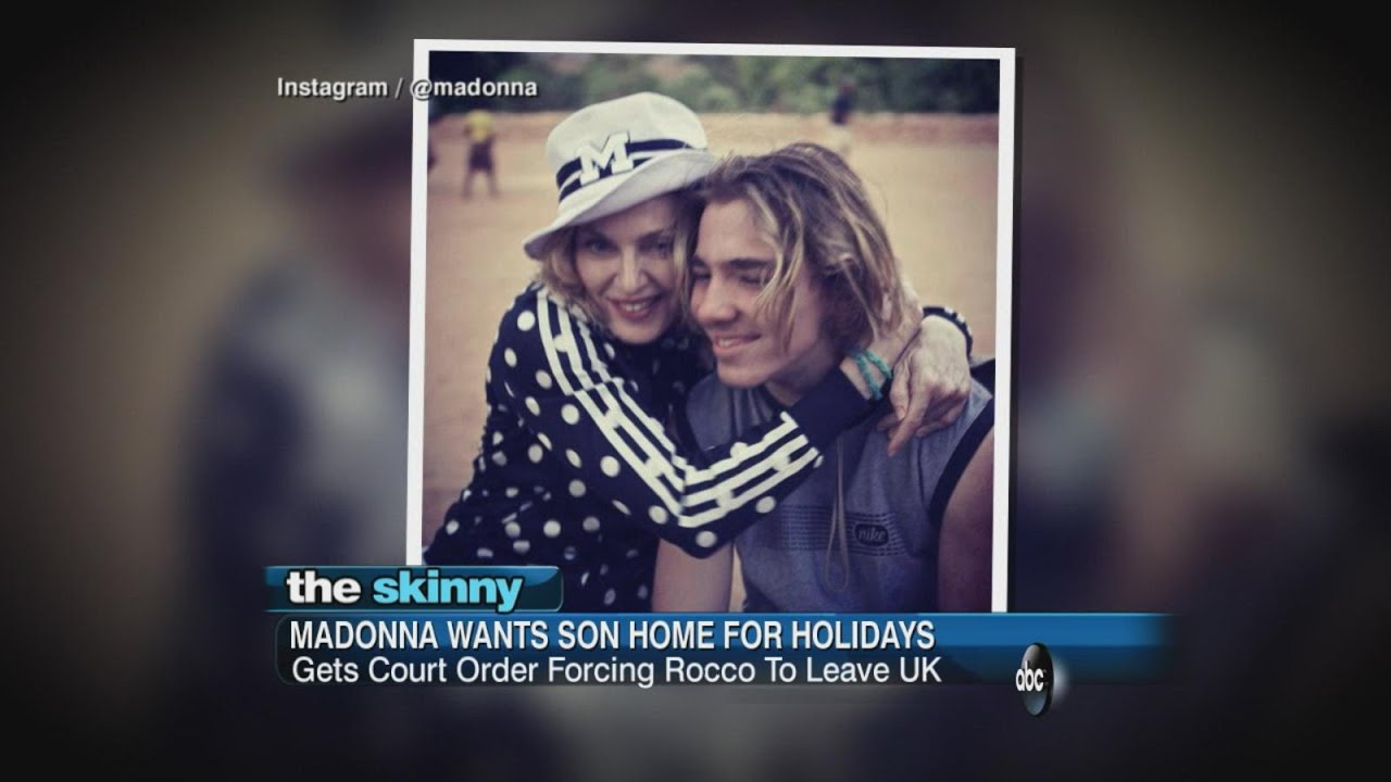 Court Orders Madonna's Son to Return to U.S | ABC News