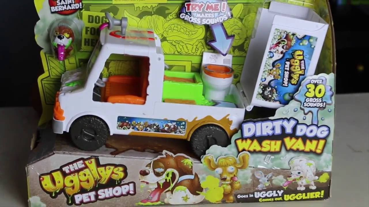 ccbe909113 DIRTY DOG WASH VAN! (The Uggly s Pet Shop) - YouTube