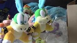 Big Mario plush unboxing Bowser Waluigi Baby mario Baby luigi and Larry koopa