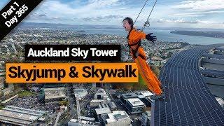 Skyjump & Skywalk on the Sky Tower in Auckland  – New Zealand