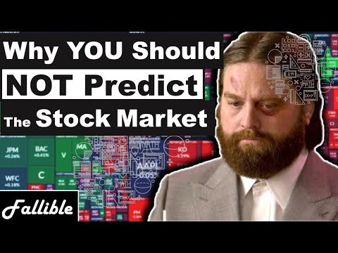 """Only Idiots """"Predict"""" The Stock Market 
