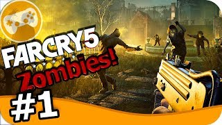 FAR CRY 5 MUERTOS VIVIENTES ZOMBIES! DLC #1 EpsilonGamex