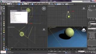 Видео урок по настройкам источников света в 3ds max 2014