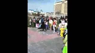 Празднование праздника  Навруза.Выступление группы
