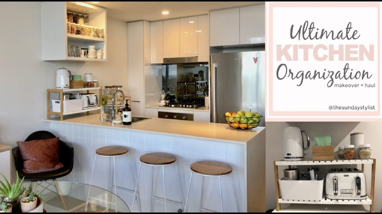 Kitchen Organization Small Kitchen Storage Ideas The Sunday Stylist