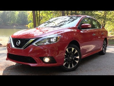 2017 Nissan Sentra SR Turbo (6-spd/X-Tronic) - Road Test & In Depth Review