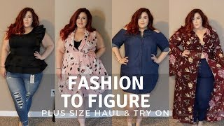 Fashion to Figure - Plus Size Haul & Try On