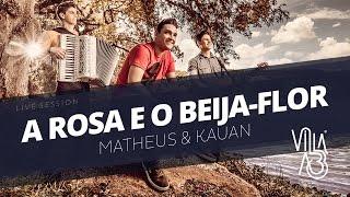 A Rosa e o Beija-Flor Cover - Matheus & Kauan (Live Session) | Villa A3