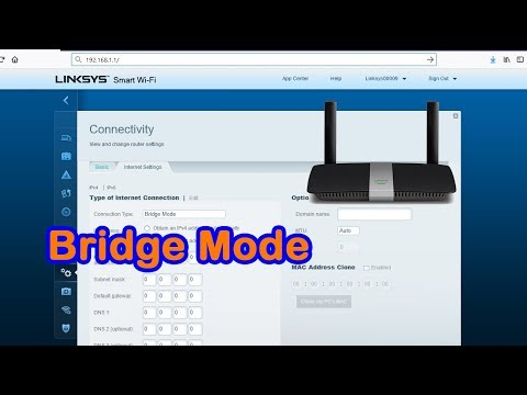 Access Point Mode on Linksys Wifi router