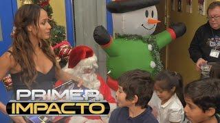 Actriz dominicana Dania Ramírez dona 10,000 dólares a niños del 'Boys and Girls Scouts'