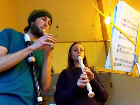 Simple Gifts - soprano & Alto recorder
