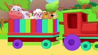 Kırmızı Trenin Bir Çiftliği Var Çocuk Şarkısı Ve En Sevilen Kırmızı Tren Şarkıları