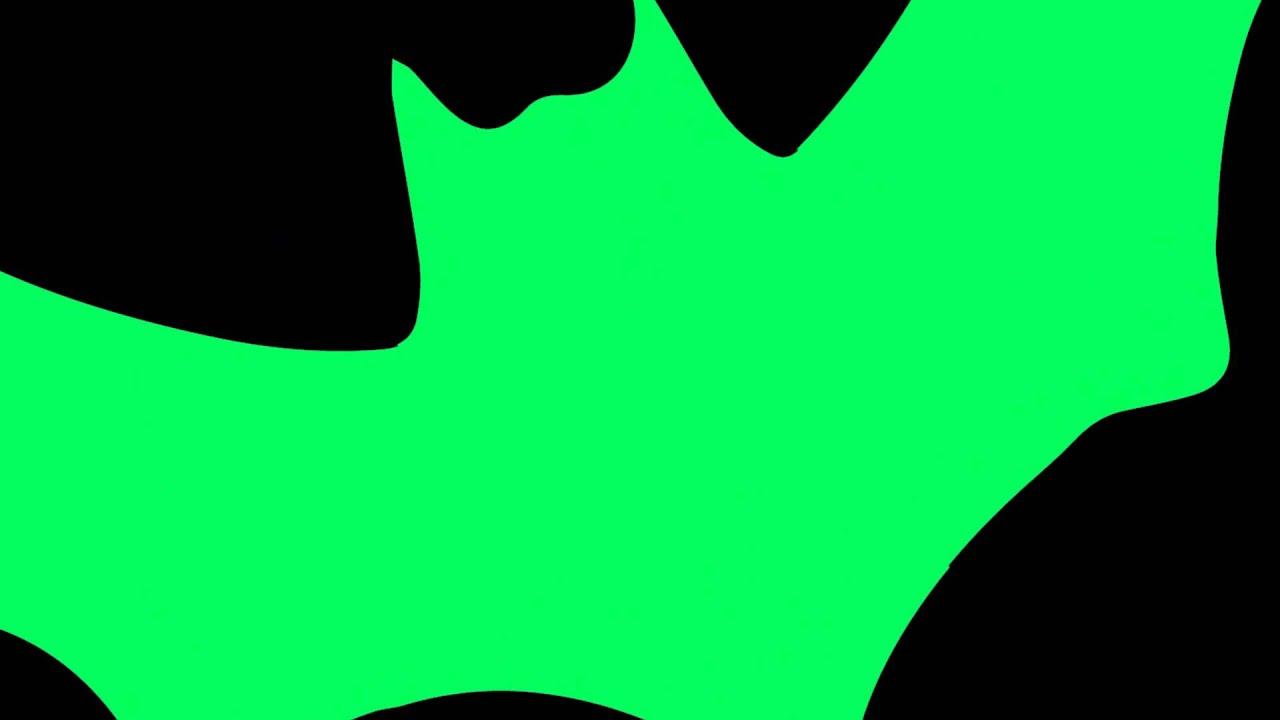 green screen halloween bat transition youtube