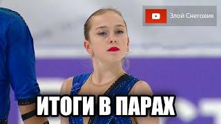 ИТОГИ ПРОИЗВОЛЬНОЙ ПРОГРАММЫ Пары Кубок России 2020 в Сызрани Парное Катание