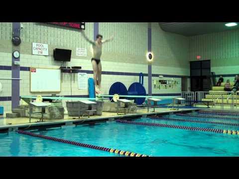 Diving Ballston Spa Boys Swimming vs. Saratoga Part 1
