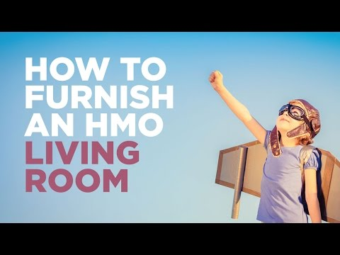 How to furnish and HMO Living Room