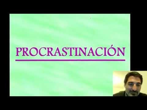 PROCRASTINACIÓN/ PROCRASTINATION /  LO QUE ME SALVÓ LA VIDA 39