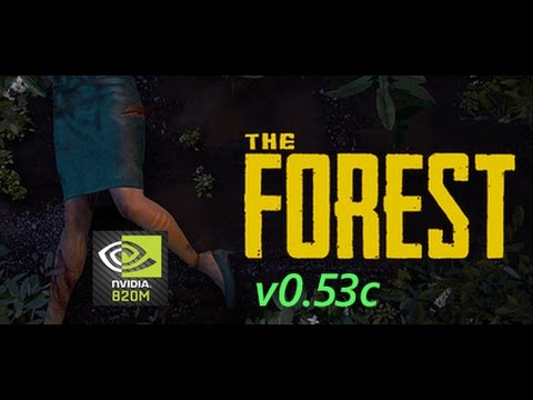 The Forest v0 53c NVIDIA GEFORCE 820M (2GB)