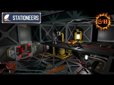 Sarcoth Plays ► Stationeers ► Solar Panels and Special Metals