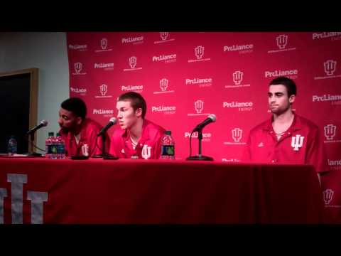 Indiana Players Postgame Press Conference vs.Purdue
