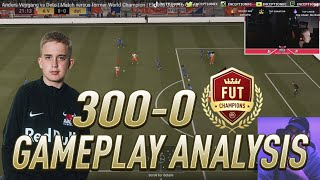 14 YEAR OLD ANDERS IS 300-0 IN FUTCHAMPS! GAMEPLAY BREAKDOWN/ANALYSIS - FIFA 21 ULTIMATE TEAM