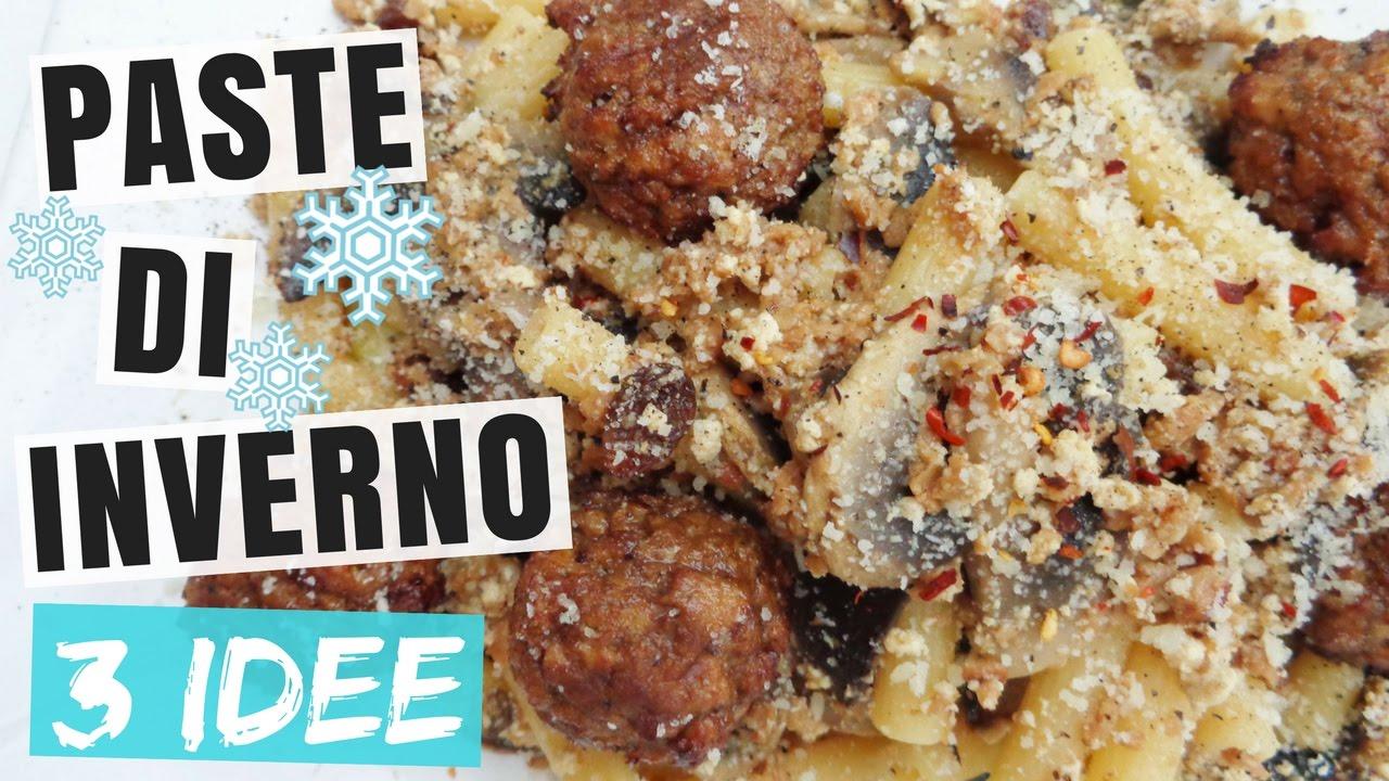 3 paste veloci invernali primi piatti invernali sfiziosi for Ricette di cucina italiana facili