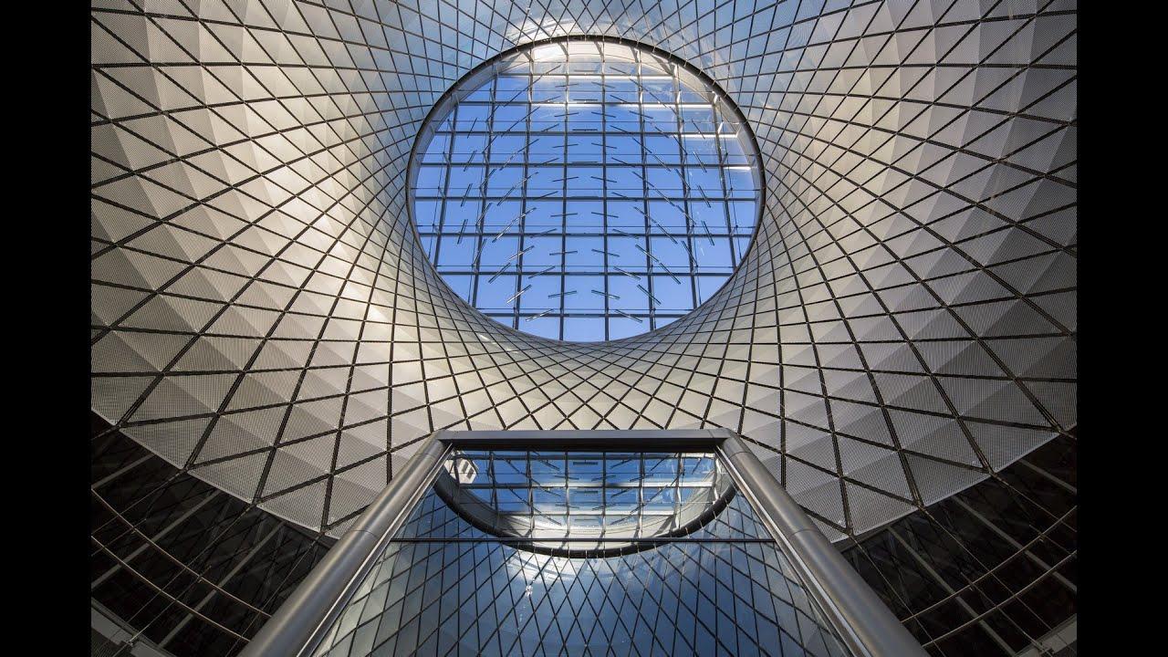 Fulton center sky reflector net award of merit 2016 iald lighting
