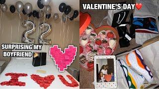 Surprising my Boyfriend + Valentine's Day