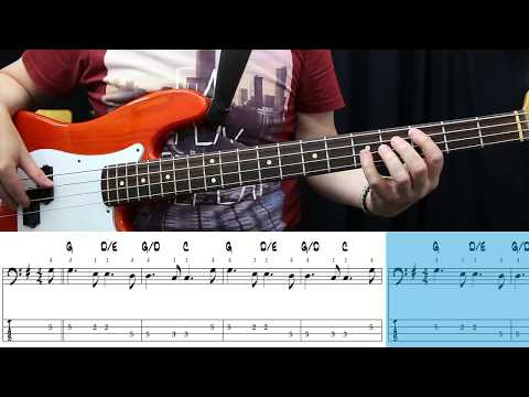 Sting - All This Time (Bass cover with Tabs)