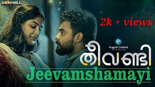 Gambar cover Jeevamshamayi song | Theevandi | our version | Tovino Thomas | 2018 | Shreya Goshal | Harisankar K.S