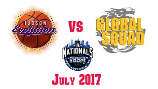 Hudson Evolution vs Global Squad | CrossOver Hoops Nationals 2017