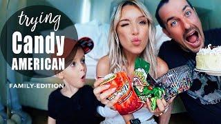 XXL FOOD HAUL USA 2016 Family-Edition   AMERIKANISCHE SÜßIGKEITEN TESTEN   Essen + Trinken