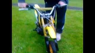 kxd 50cc dirt bike