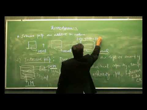 Thermodynamics- State variable and Process | Lecture- 1(b) | Explained