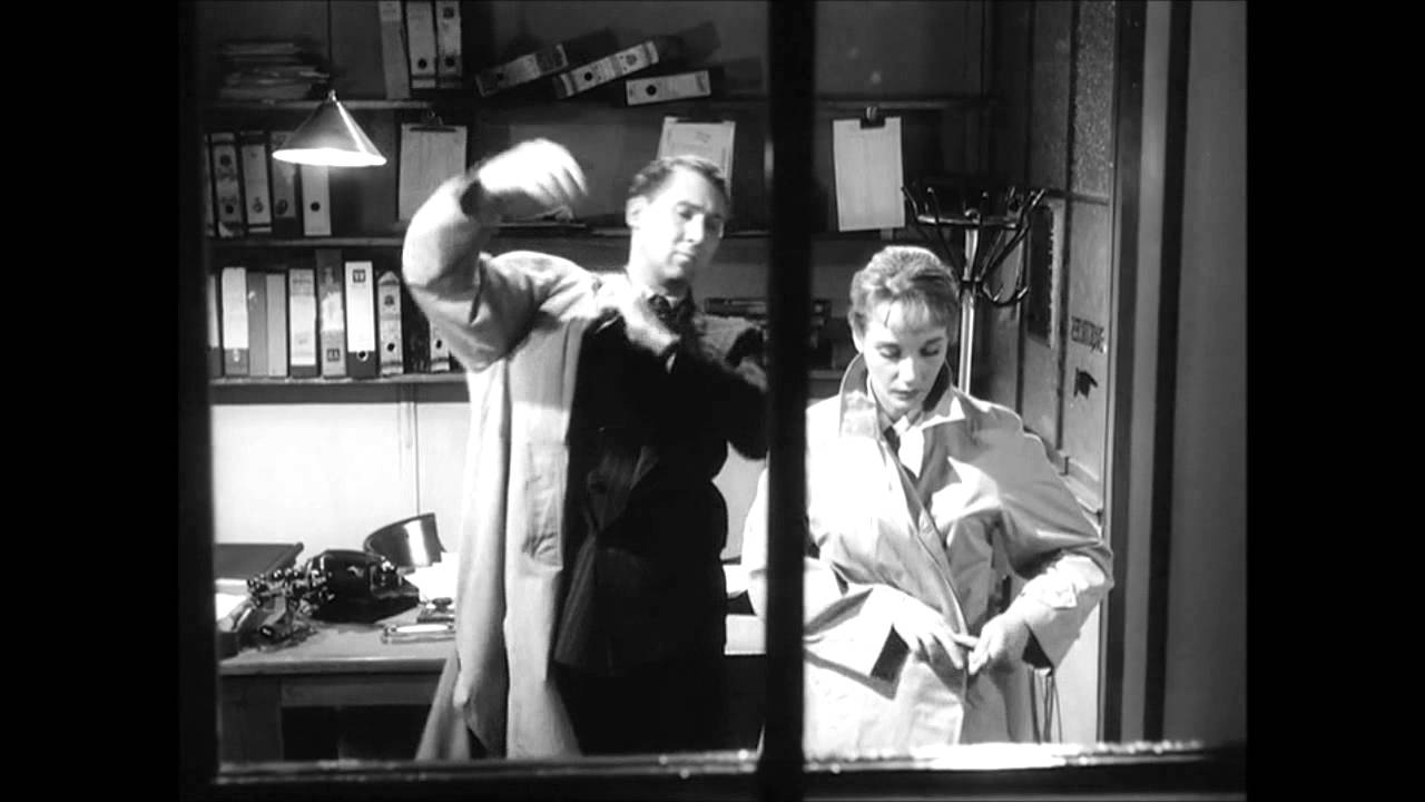 Woman in a Dressing Gown (1957) - Preston and Georgie - YouTube