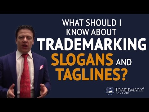 What Should I Know About Trademarking Slogans and Taglines? | Trademark Factory® FAQ