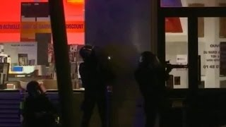 New video of Swat team storming The Bataclan