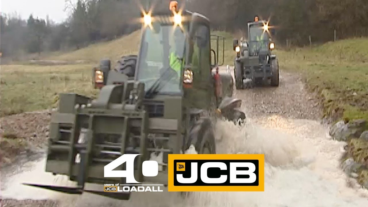JCB Defence 525-50m - Celebrating 40 Years of Loadall
