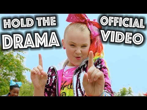 HOLD THE DRAMA OFFICIAL MUSIC VIDEO! - JoJo Siwa