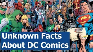 Unknown Facts About DC Comics | Entertainment Weekypedia