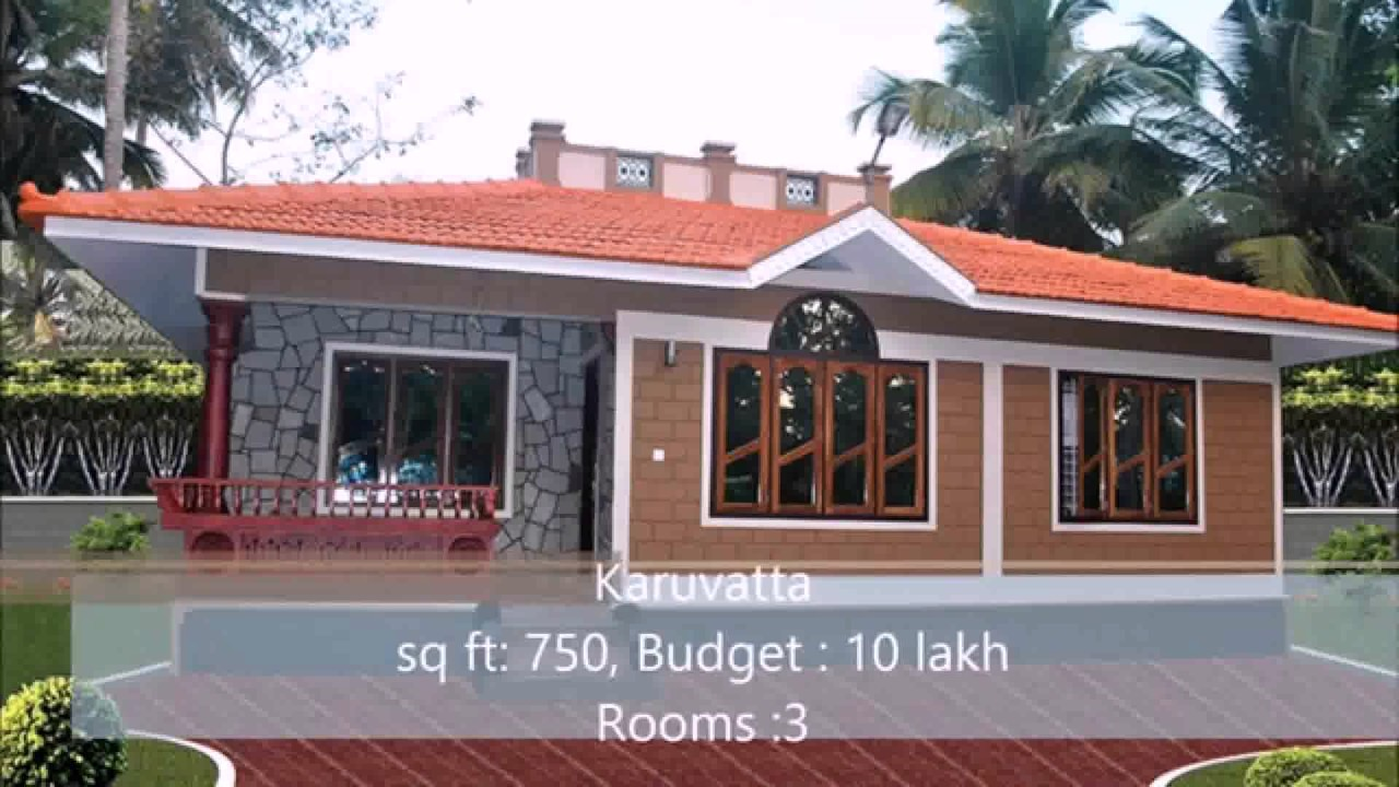 Low budget house design in india youtube for Sedie design low cost