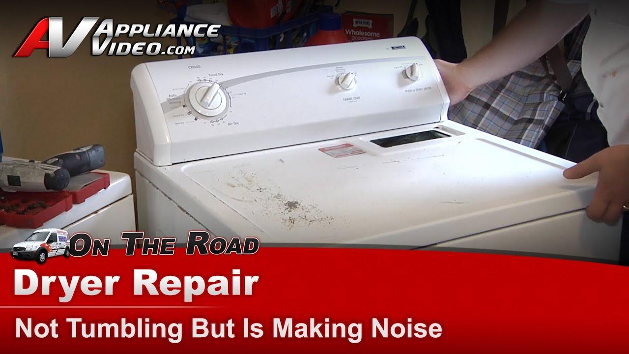 Kenmore Dryer Repair Not Tumbling But Is Making Noises Diagram 11068632700