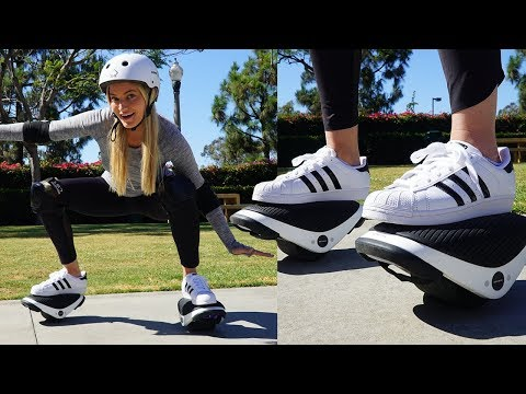 Segway Shoes!!! Segway Drift W1 Unboxing and Review!
