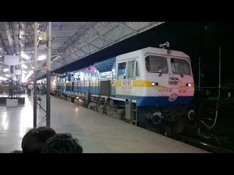 Route Diverted Journey & A close EMD Experience : Indian Railways