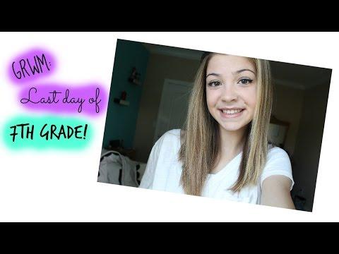 GRWM: Last Day of 7th Grade!