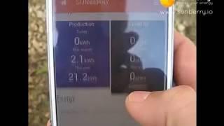 Chauffage solaire DIY + Sunberry App