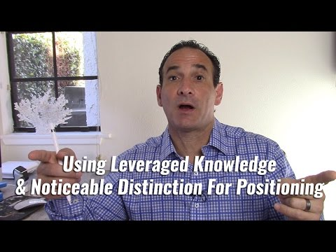 Using Leveraged Knowledge & Noticeable Distinction For Positioning