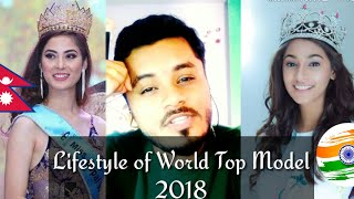 REACTION on Lifestyle of MISS NEPAL AND MISS INDIA (Miss World 2018)