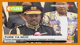 Wanachama wapya wa NCIC akutana na waziri Matiangi