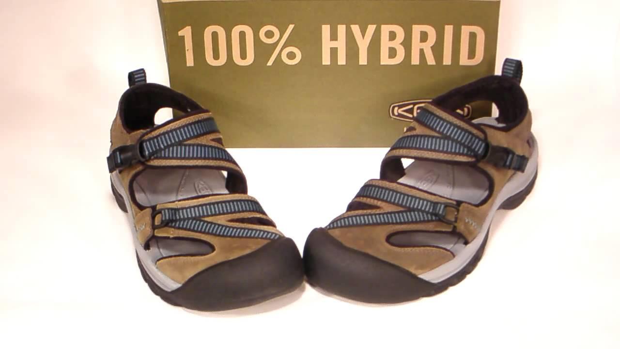 e3d600229677 Keen Mystic women s sandal Grey Blue 5254-BGBB - YouTube